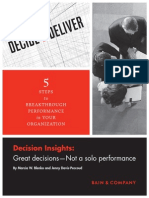 Decision Insights 10 Great Decisions
