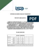 Criterios de Diseño Lineas de Transmision