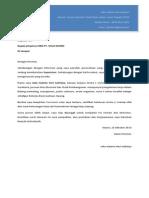 Copy of Surat Lamaran & CV