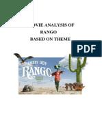 MOVIE ANALYSIS OF RANGO BASED ON THEME