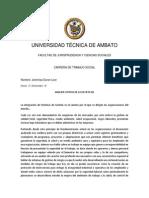 Analisis de La Revista Riesgo Laborales del Iess Ecuador