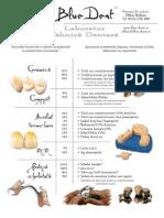 Oferta Laborator Tehnica Dentara BlueDent - Aprile 2009.pdf
