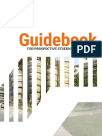 Guidebook for Prospective Students AY 2015-2016