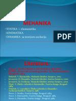 statika i Elastostatika kinematika dinamika Sa Teorijom