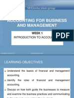 Lecture Slides 1 Introduction to Accounting
