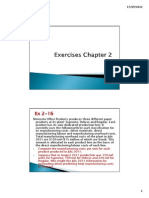 Exercises Chapter 2 Accounting