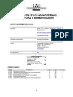 Grado Lenguas Modernas