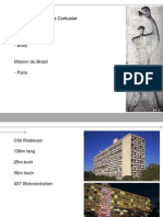 Thema 8 Habitation Le Corbusier Marseilles Berlin Nantes Paris