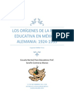 Los Orígenes de La Radio Educativa en México y Alemania