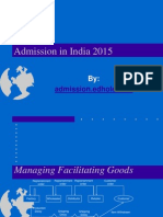 Admissions in India for B.tech