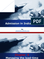 Admissions in India for MBA