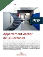 Appartement_Atelier Le Corbusier - Paris