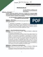 Proyecto de Ley que prioriza el interés de los consumidores en los procedimientos sancionadores