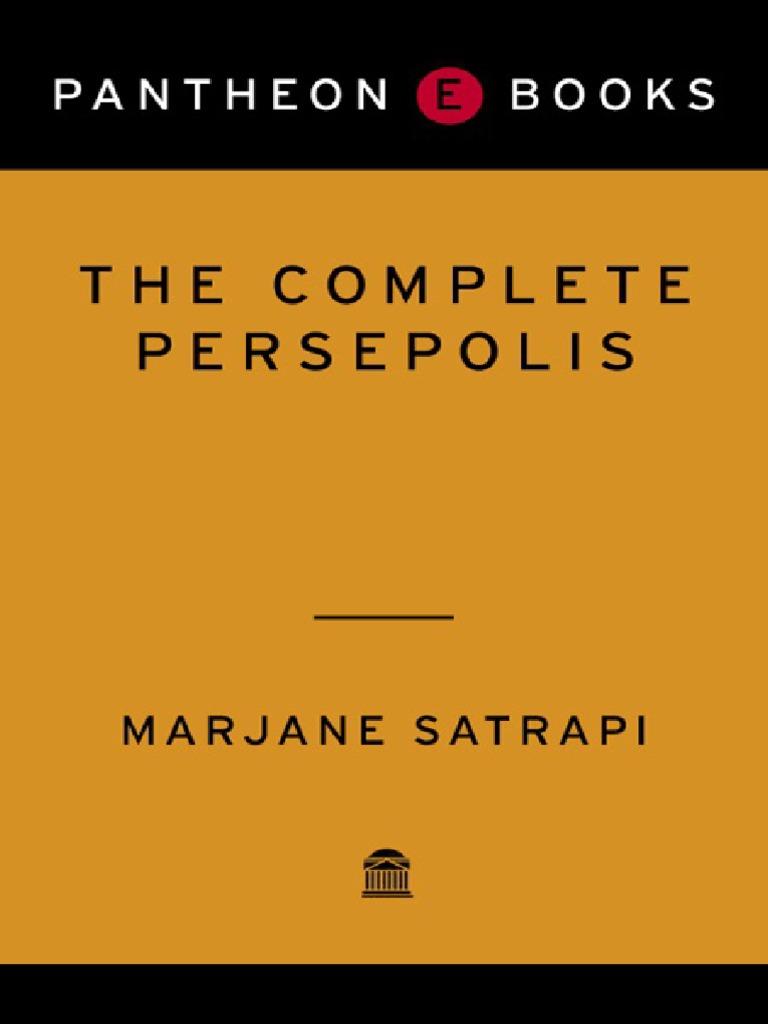 Persepolis Fumetto Ebook