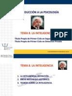 Tema 8. Inteligencia. (1)