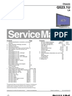 Philips Lcd Tv q523.1u La Service Manual