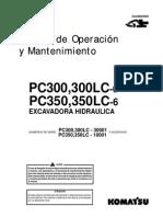 O&M PC300,350 (LC) 30001-UP GSAD009000