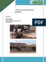 Baseline Survey Village Mian Essa- CBDRR Project
