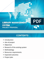 Proposal Library Management System