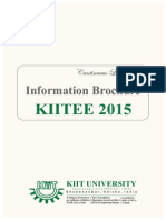 KIITEE_2015 Information Brochure