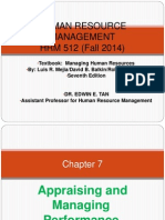 Chapter 7 Human Resource Management Mba Fall 2014