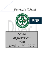 School Improvement Plan Draft Copy 2014 - 2017