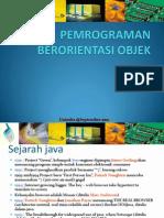 Pemrograman Berorientasi Object