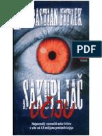 Sebastian Fitzek - Sakupljac Ociju