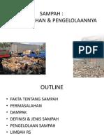 191105051 Sampah Permasalahan Pengelolaannya Ppt