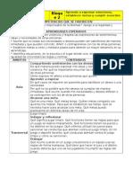 Planificacion 3° de ptrimaria 2014 - 2015