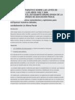 Trabajo Comparativo Sobre Las Leyes de Educación de Los Años 1992 y 2006