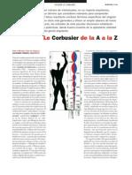 Le Corbusier de La a a La Z