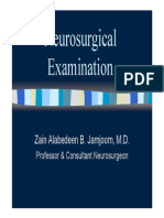 SURG351 - Neurosurgical Examination