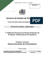 Anexo 2 Edital Audiovisual de Pernambuco 2014 2015