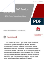 1.OptiX RTN 600 Product Introduction