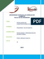 Trabajo Sobre Patologias en La Madera Hugo