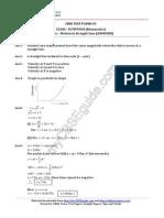 class11 Physics Kinematics Test 03 Answer 20ff