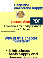 Lecture Ch 3 Eft Market Demand & Supply