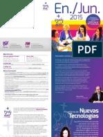 Programa de Actividades de Igualdad del 1er semestre del 2015