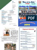 Programa Aniversario 2014 Zarumilla