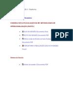 1-5ªSessão-Unidade4-Plataforma-MetodologiasOperacionalização(Parte I)ModeloAuto‐AvaliaçãoBE