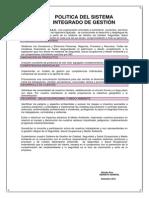 Politica de Sig Md Peru