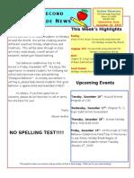December 12 Newsletter