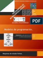 4.1 Modelos de Programación