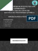 Sedimentacion