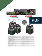 EHEIM ProfessionelEHEIM_professionel33 250 350 350e 600 Manual