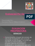 Evaluacion Pre Operatoria Pt Qx