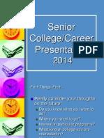 2014 2015 senior college career night