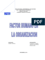 El Factor Humano en La Organización Local 2