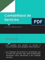 Contabilidad de Servicios2013